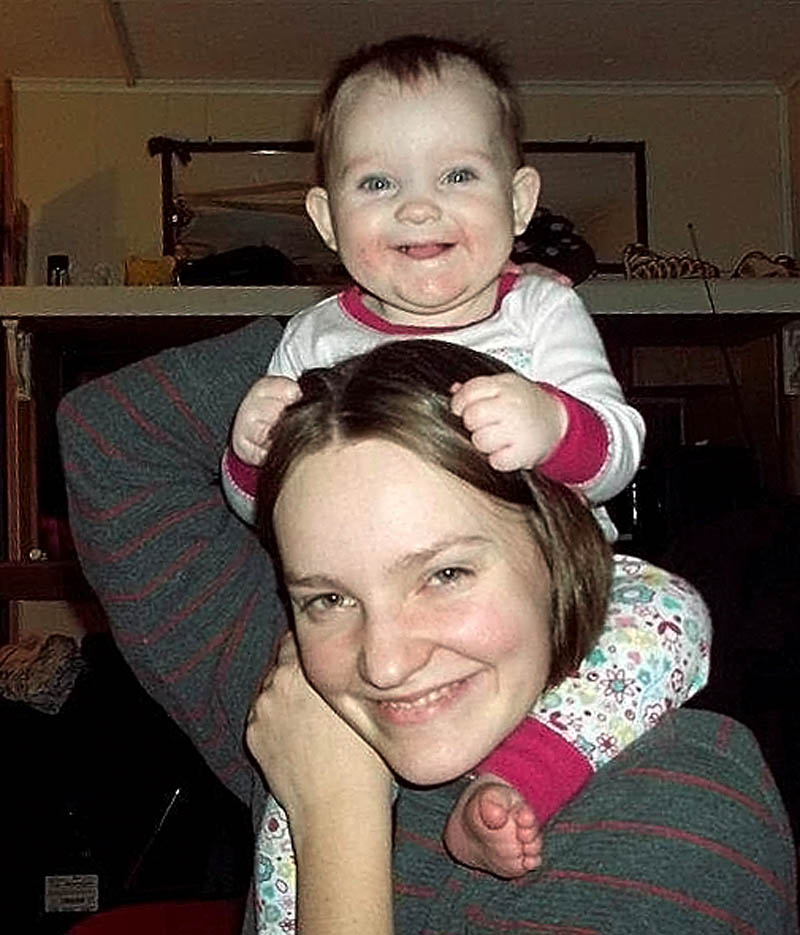 Facebook photo Leanna Norris with her daughter Loh Grenda, who was born in 2011.