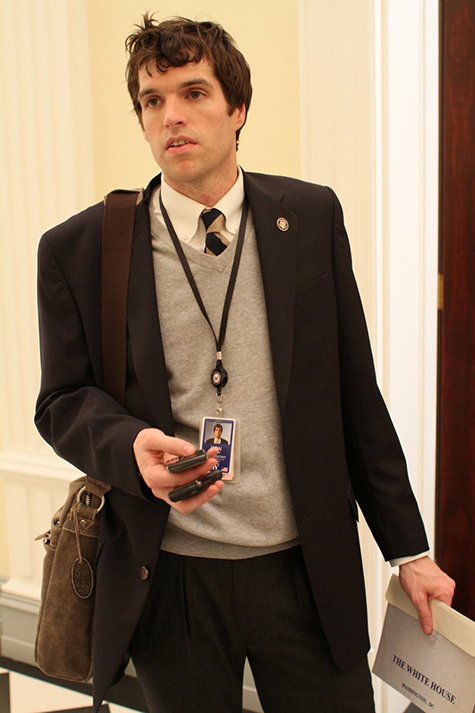 "Tim Simons, 34, plays White House liaison Jonah Ryan on the hit HBO show ""Veep"" starring Julia Louis-Dreyfus."