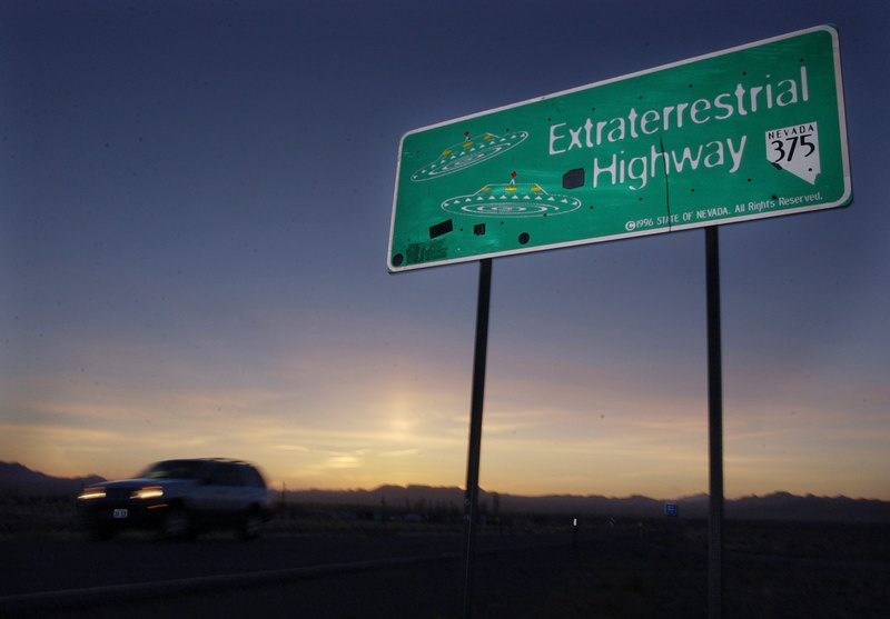 Nevada has officially designated a state highway the Extraterrestrial Highway because of the existence of Area 51, a military testing facility. The CIA is acknowledging the existence of Area 51 in newly declassified documents.