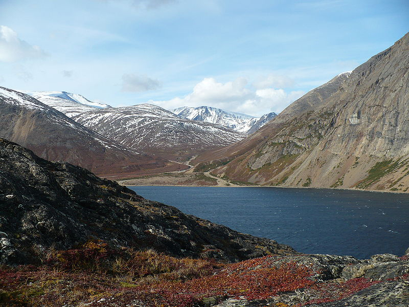 This photo shows a view of the Nachvak Fjord in the Torngat Mountains National Park in Labrador, Canada. Maine resident Matthew Dyer was camping in this national park, near the Nachvak Fjord, when he was attacked by a polar bear Wednesday, July 26, 2013.