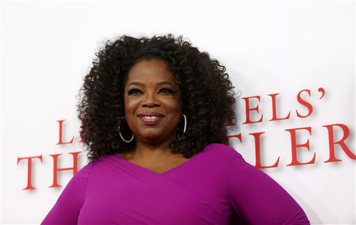 """Oprah Winfrey arrives at the Los Angeles premiere of """"Lee Daniels' The Butler"""" at the Regal Cinemas L.A. Live Stadium 14 on Monday, Aug. 12."""