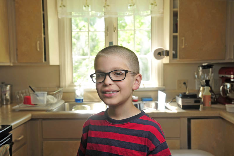 Noah Koch, 9, of Waterville, was invited to the White House in July to prepare his award winning pesto. He was selected as a winner in First Lady Michelle Obama's Healthy Lunchtime Challenge, an honor that brought the child to Washington to meet the first lady and President Obama.