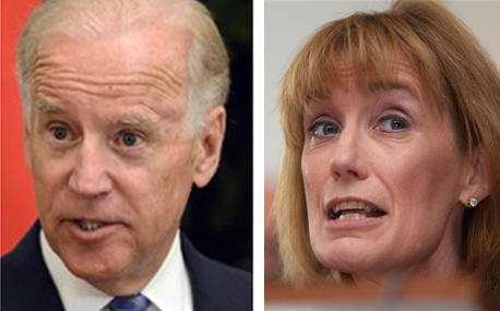 Vice President Joe Biden and New Hampshire Gov. Maggie Hassan: Raising money for New Hampshire candidates is a rite of passage for presidential aspirants.
