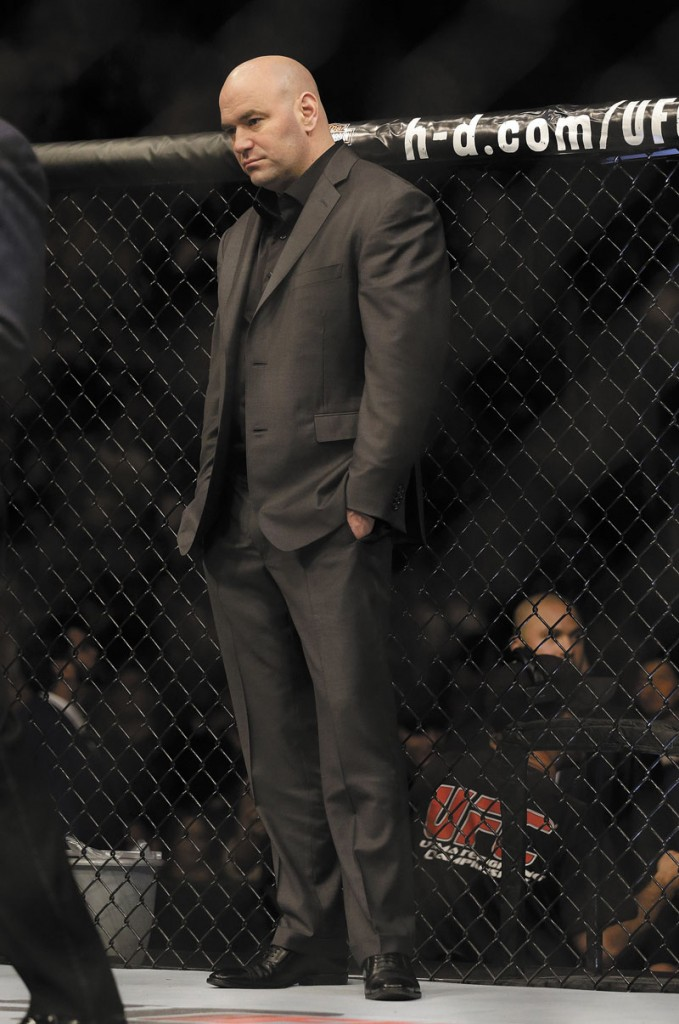 THE MAINE MAN: Dana White, who graduated from Hermon High School in 1987, helped build UFC from a struggling company with a bad reputation to one of the fastest growing promotions in sports.