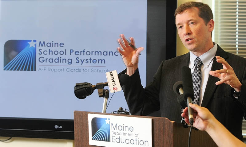 """Education Commissioner Stephen Bowen: """"Reform isn't easy, but as Tony (Bennett) knew, those who are content (with) the status quo will always push back against new approaches and new ideas,"""""""