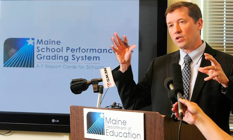 Education Commissioner Stephen Bowen:
