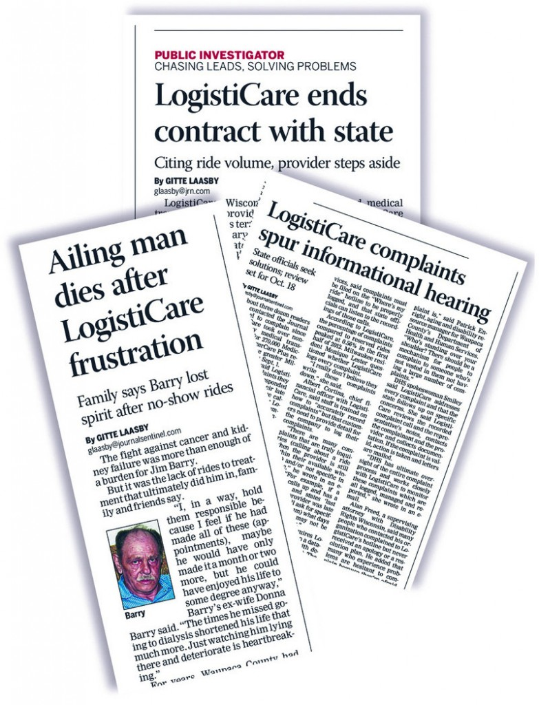 Clippings from the Milwaukee Journal Sentinel
