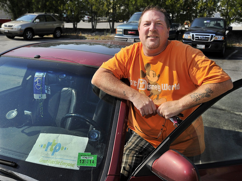 Greg Curry, a volunteer driver, said he doesn't want to be put into the position of turning down rides for MaineCare patients just because he'd lose money providing them.