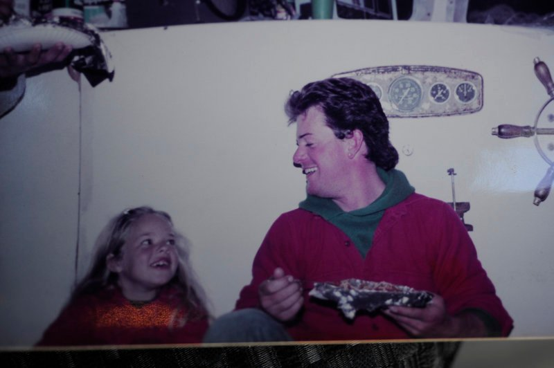 Missing fisherman Billy McIntire is shown with Michelle Melanson in a photo taken in 1984.