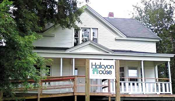 Halcyon House in Skowhegan, a refuge for homeless youths, is being closed because of a lack of money.