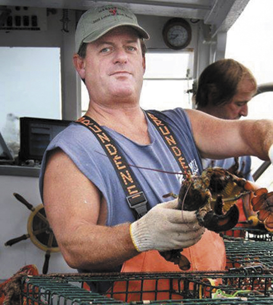 Fisherman Billy McIntire, shown fishing in 2008, is presumed drowned, after he was lost overboard late in the evening on Thursday, Aug. 22.