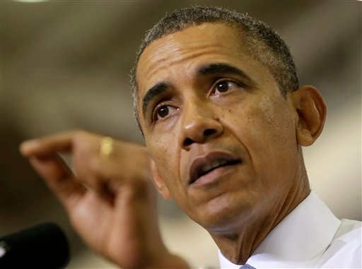 President Barack Obama speaks about the Affordable Care Act on Thursday at Prince George's Community College in Largo, Md. White House aides say Obama is still willing to negotiate over a long-term spending deal, just not as part of raising the debt ceiling.