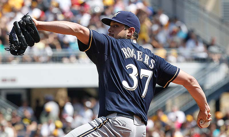 Mark Rogers of Orrs Island, a former first-round draft pick, was excluded from the 40-man roster by the Milwaukee Brewers. Rogers will be a minor league free agent after the World Series.