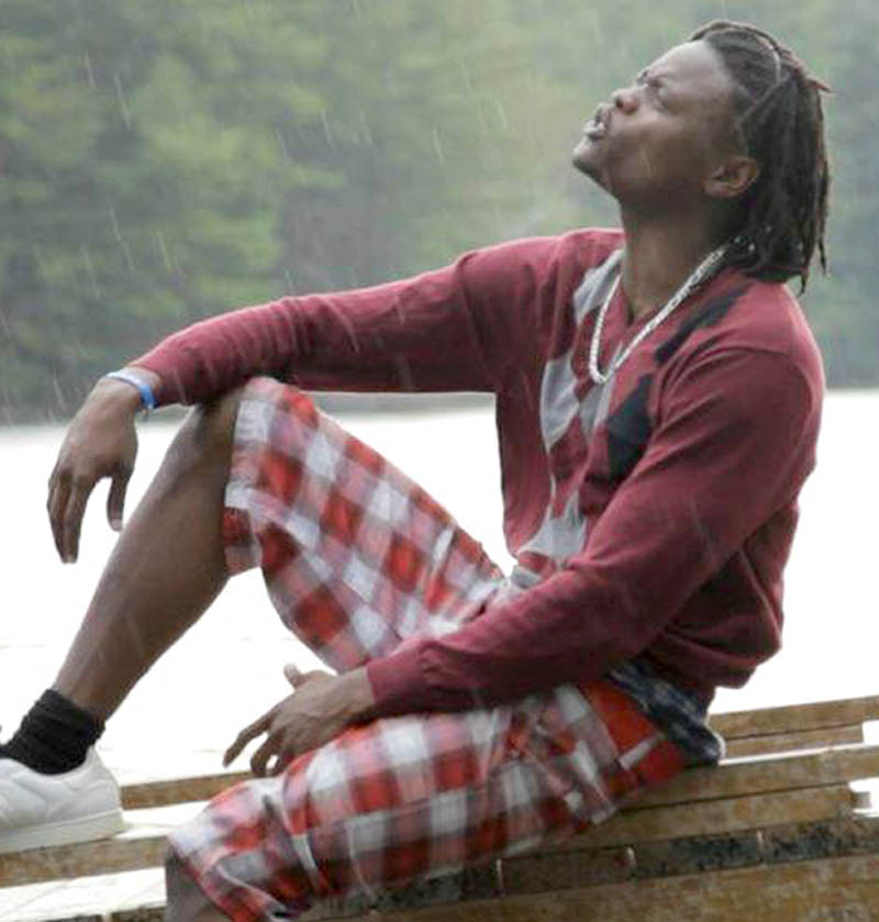 """Lewiston hip-hop artist Pius Mayanja, who goes by """"Pallaso"""" onstage, was so touched by the story of missing toddler Ayla Reynolds that he wrote a song dedicated to the girl."""