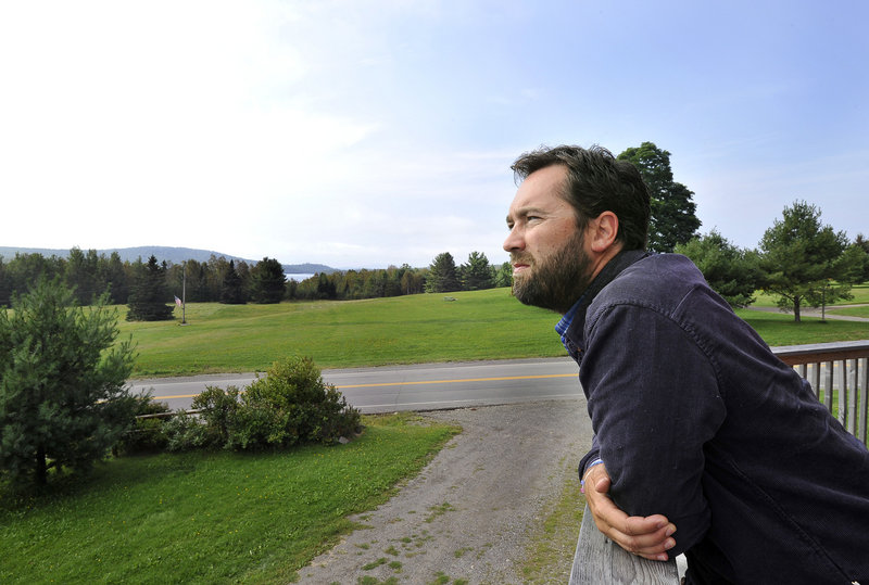Lucas St. Clair is president of the board of Elliotsville Plantation Inc., the company his mother founded.