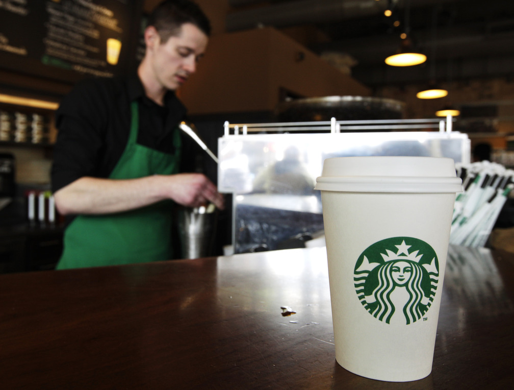 From Wednesday through Friday this week, Starbucks is offering a free tall brewed coffee to any customer in the U.S. who buys another person a beverage at the coffee chain.