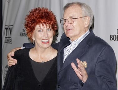 "Actors Marcia Wallace, left, and Bill Daily arrive for TV Land's 35th anniversary tribute to ""The Bob Newhart Show"" in Beverly Hills, Calif., on September 2007 Wallace, who played a receptionist on the show, and the voice of Edna Krabappel on ""The Simpsons,"" died Saturday."