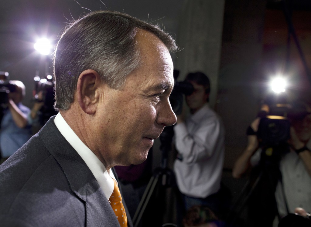 """Speaker of the House John Boehner, R-Ohio, said Wednesday that """"we fought the good fight. We just didn't win."""""""