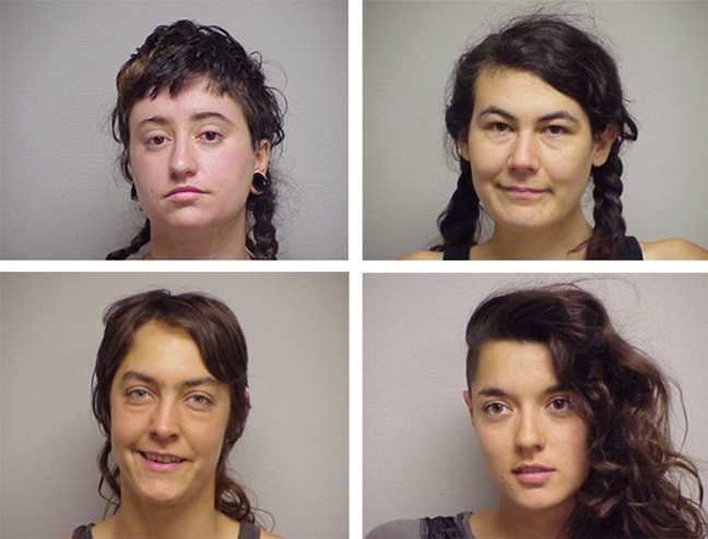 Top row, from left: Anne St. Amand and Christine Baglieri; bottom row, from left: Christine Elizabeth Buchanan and Sara Moscoso.
