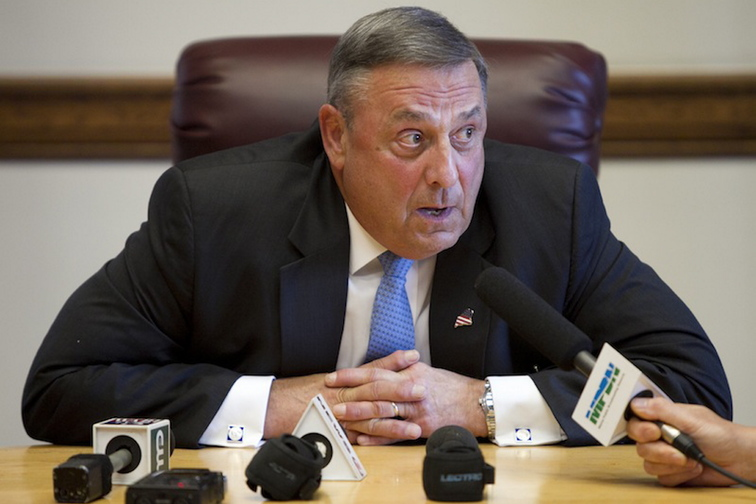 Gov. Paul LePage said Thursday that he declared a civil emergency to make sure that federally funded state employees can receive unemployment benefits if they are laid off because of the partial shutdown of the federal government.