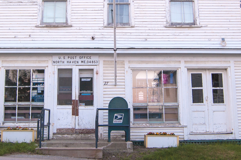 """North Haven's post office is the kind of """"Maine from the Inside"""" that North Haven photographer Seth Macy hopes to capture."""