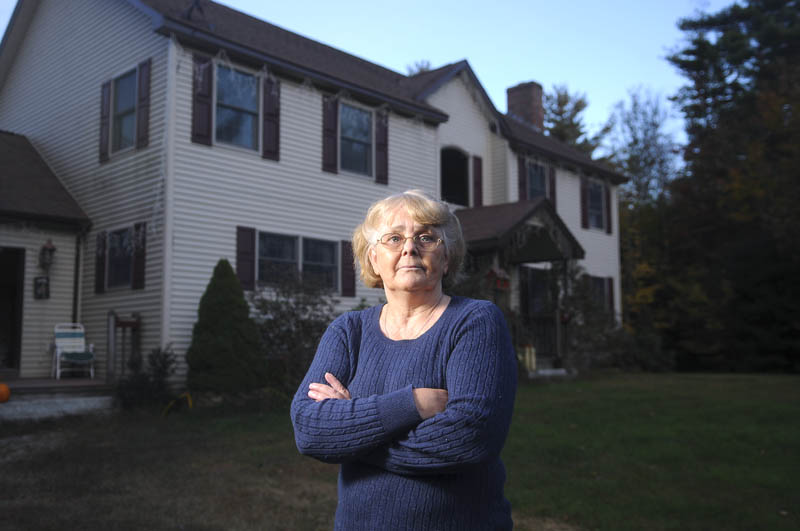 Deb Thomas, of Readfield, will remained furloughed from her State of Maine job. She adjudicates Social Security claims at an office in Winthrop.