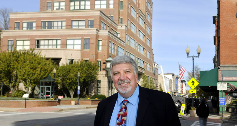 Steve Pecukonis is the new Downtown Manager in the city of Augusta. He started Monday at his Water Street office.