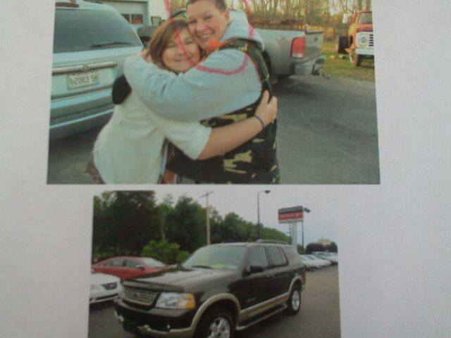 Carrie Commeau, right, has been missing since Tuesday. She is known to be driving a Ford Explorer, Black over Brown.