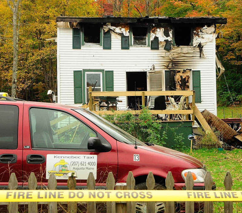 A home at 119 Granite Hill Road in Manchester was destroyed by fire today, killing Sam Spinicci, 56, his family said.