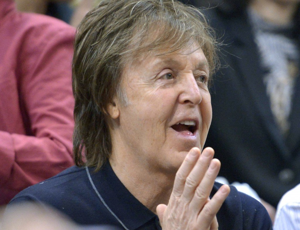 In an open letter posted on his website Thursday, Paul McCartney urges Russian President Vladimir Putin to help secure the release of Greenpeace activists who were detained during a protest at a Russian oil rig in the Arctic on Sept. 18, 2013.