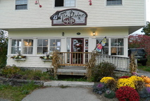 WELCOME: The entrance to The Badger Cafe in Union.