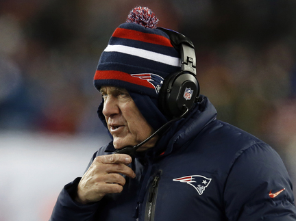 New England Patriots head coach Bill Belichick watches from the sideline in the first quarter of an NFL football game against the Denver Broncos Sunday, Nov. 24, 2013, in Foxborough, Mass. (AP Photo/Elise Amendola)