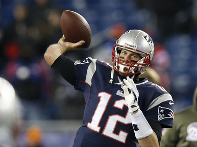 ON TO THE NEXT ONE: Quarterback Tom Brady and the New England Patriots insist they will not overook the Houston Texans, despite their 2-9 record.
