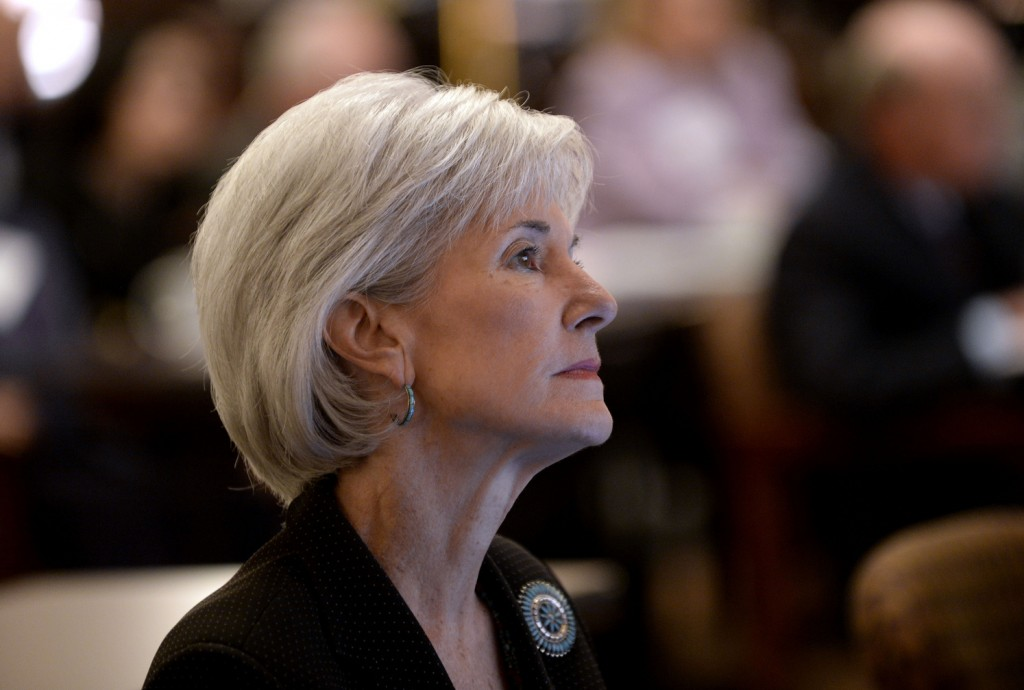 "Department of Health and Human Services Secretary Kathleen Sebelius said of the federal health insurance marketplace: ""We expect enrollment will grow substantially throughout the next five months."""