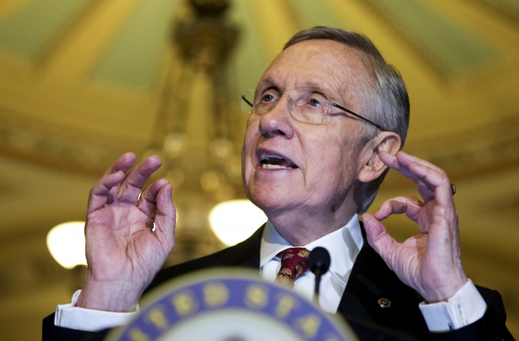 """Senate Majority Leader Harry Reid of Nevada said, """"The need for change is obvious"""" while shepherding through a vote to change the filibuster rules."""