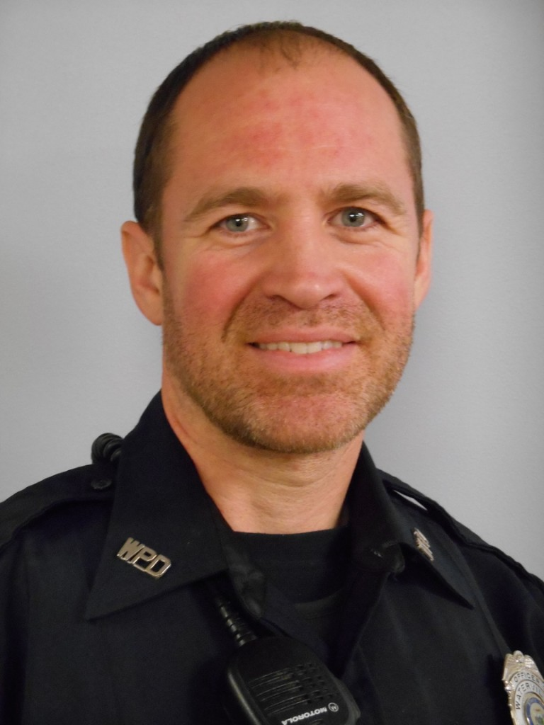 Officer Matt Libby of the Waterville Police Department.