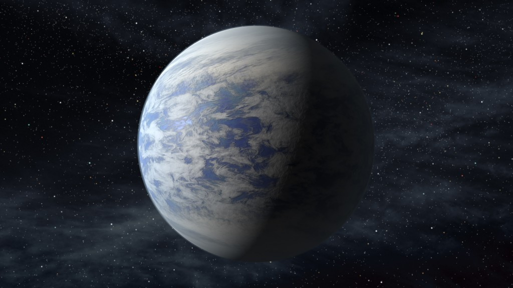 The Associated Press/NASA This artist's rendition provided by NASA shows Kepler-69c, a super-Earth-size planet in the habitable zone of a star like our sun, located about 2,700 light-years from Earth in the constellation Cygnus. Astronomers using NASA data calculate that in our galaxy alone there are at least 8.8 billion Earth-sized planets that are not too hot or not too cold and circle stars that are just like our sun, according to a study published Monday.