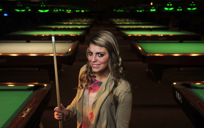 BIG TOURNAMENT: Taylor Reynolds, 16, of Waterville is preparing to play in the World Pool-Billiard Association World Junior 9-Ball Championships, which will take place in Johannesburg, South Africa Dec. 9-12.