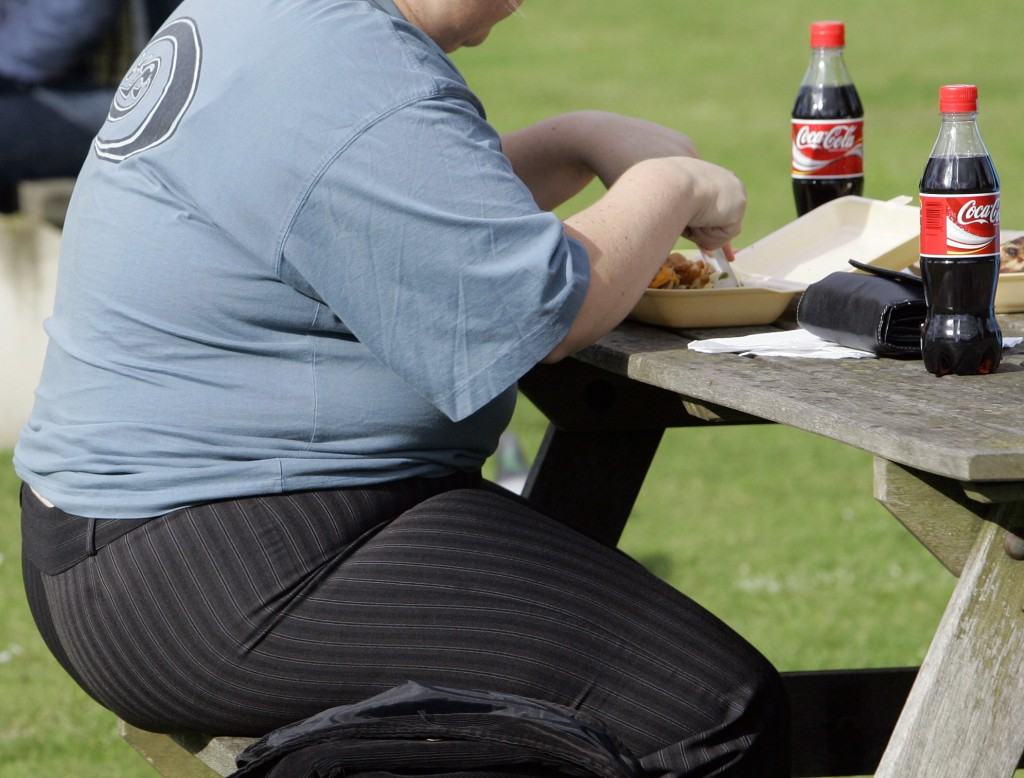 2007 Associated Press File A new study finds that people who were obese had more than double the risk of heart attack and a 64 percent increased risk of heart disease than someone who was normal weight.