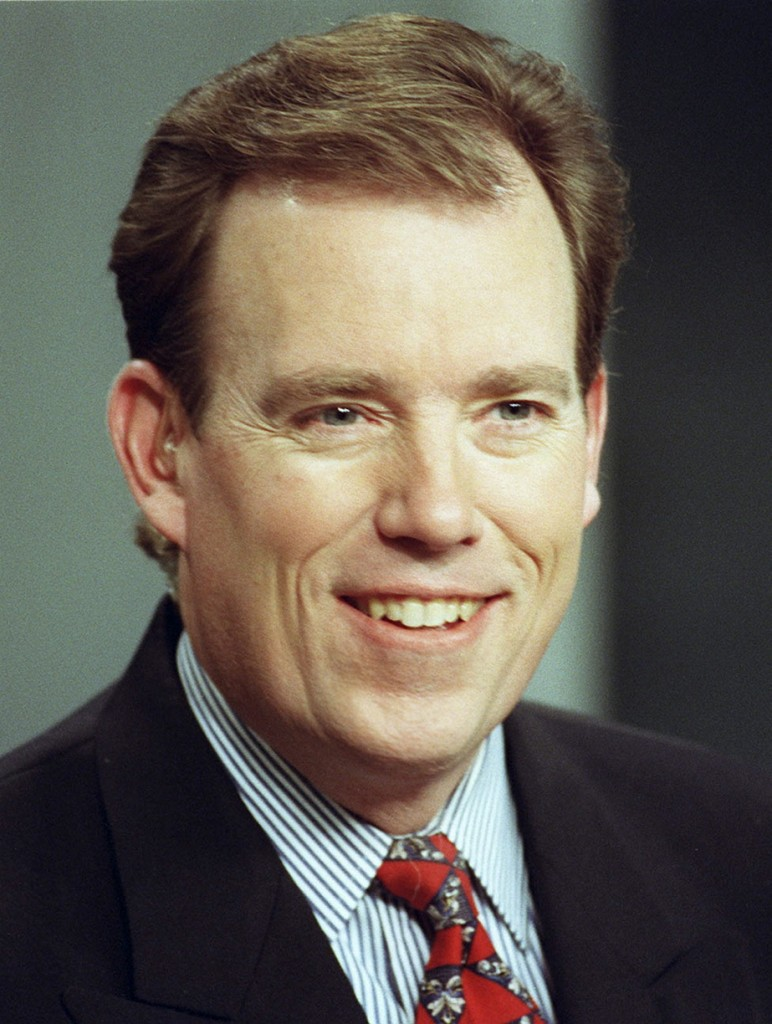 Doug Rafferty, former news anchor for WGME-13, currently serves as spokesman for the state Department of Inland Fisheries and Wildlife.