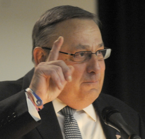 Global Warming: Gov. Paul LePage told attendees Thursday at an Augusta conference on the future of the transportation industry that global warming could help Maine because the melting of the Arctic icecap has opened northern shipping lanes.