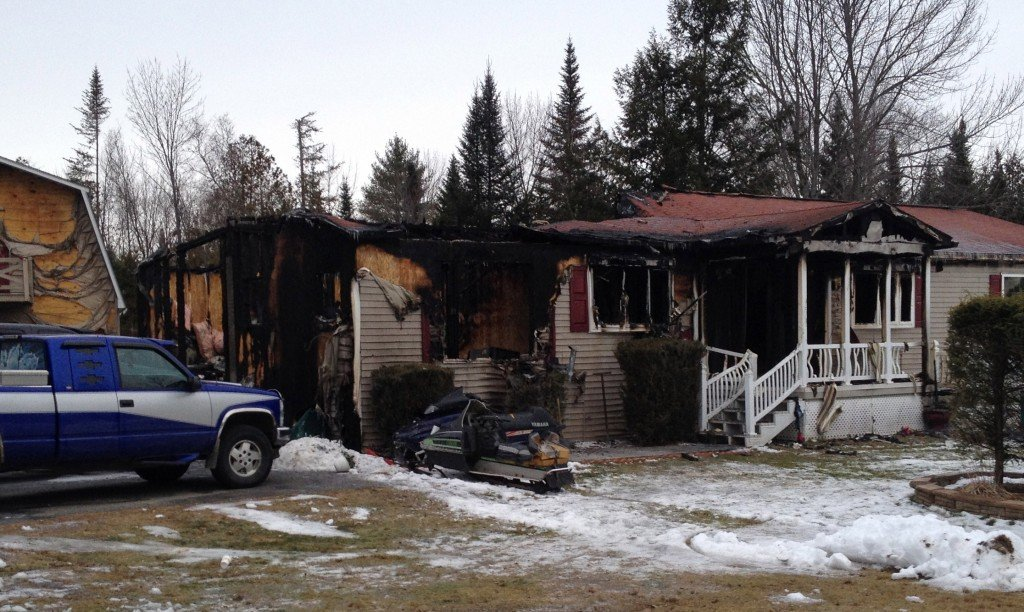 Nine Escape: Nine people escaped injury in a early morning modular home fire on U.S. Route 2 in Palmyra that started when an SUV parkined next to the house caught fire.