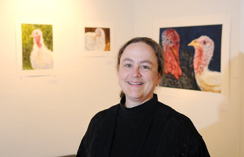 Expanded job: Deborah Fahy has been hired as the full-time executive director of the Harlow Gallery in Hallowell after the group received a $30,000 donation.