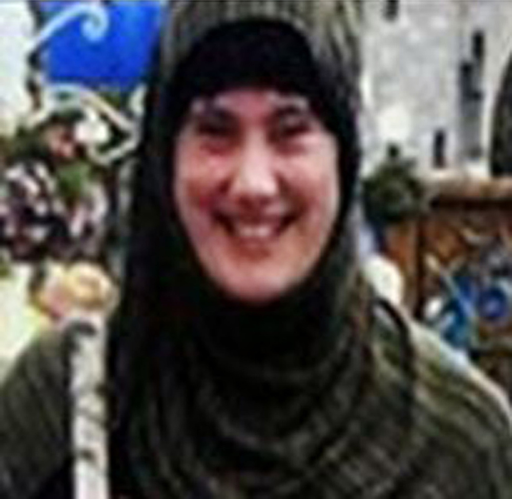 Undated photograph provided by Interpol showing Samantha Lewthwaite. I AP Photo