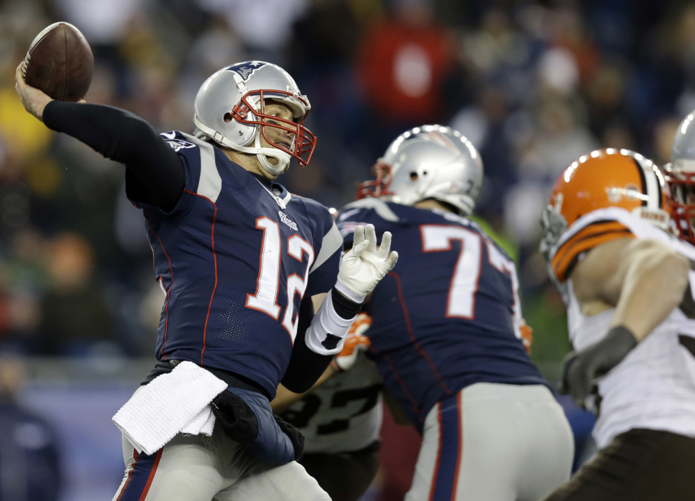 Tom Brady and the New England Patriots have rallied to victories in each of their last three games. The Patriots face the Miami Dolphins on Sunday with a chance to clinch the AFC East title.
