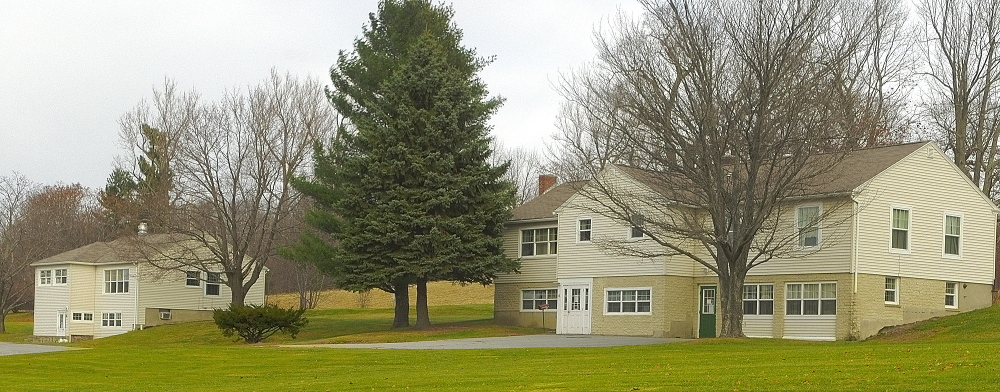 GROUP HOMEs: Two of the former group homes at Arsenal Heights in Augusta, shown in November, could once again house former patients of the Riverview Psychiatric Center.
