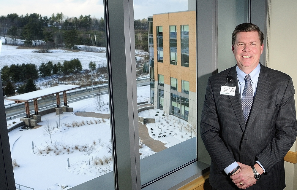 Business of the Year: Chuck Hays, the chief executive officer of MaineGeneral Health, will accept the Business of the Year Award from the Kennebec Valley Chamber of COmmerce in January.