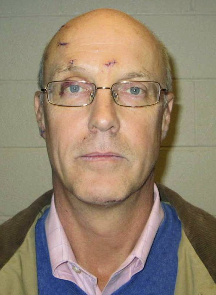 Robert Dellinger, in a booking photo provided by the Lebanon, N.H., Police Department.