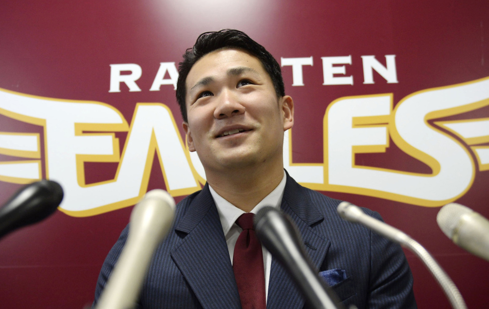 The Rakuten Golden Eagles posted pitcher Masahiro Tanaka which means Major League Baseball teams have 30 days to sign the pitcher. Any team that signs Tanaka would then have to pay Rakuten a posting fee, which is now capped at $20 million.