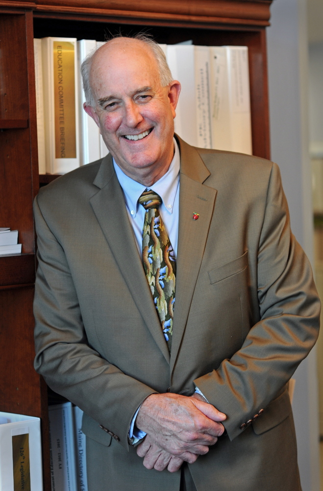 James E. Rier Jr. has served as acting commissioner of the Maine Department of Education since Oct. 8, 2013.